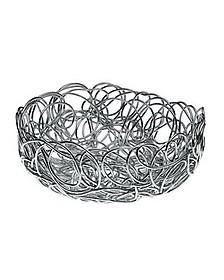 Nuvem - Round Medium Anodized Aluminium Wire Basket - Alessi