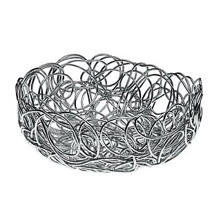 Nuvem - Round Medium Anodized Aluminium Wire Basket - Alessi
