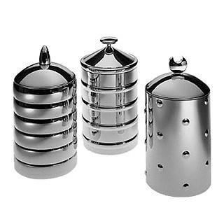 Kalisto' – Кухонные Банки с Алюминевым Набалдашником - Alessi