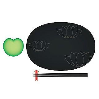 Lily Pond  - Sushi Set - Alessi