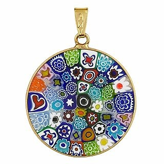 Multi-color Murano Glass Pendant