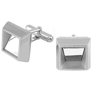ATH Collection Square Polished Cufflinks - Forzieri