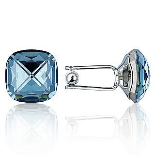 Crystal Silver-plated Cufflinks - Forzieri
