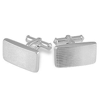 Dandy - Sterling Silver Carved Cufflinks - Forzieri