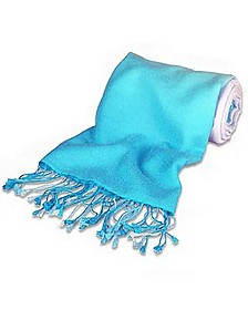 Shaded Indian Ocean Pashmina & Silk Shawl - Forzieri