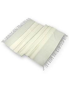 Weißer Schal aus Pashmina & Seide - Forzieri