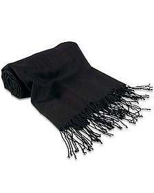 Black Pashmina Shawl - Forzieri