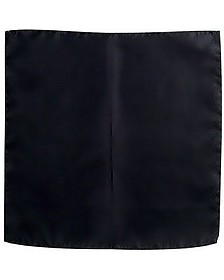 Black Silk Pocket Square - Forzieri