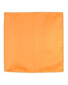 Orange Silk Pocket Square - Forzieri