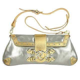 da pelle in gioiello sera decorazione argento oro metallizzata Borsa tHfdgat