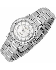 Parsifal - Ladies' Diamond River and Mother of Pearl Date Watch - Raymond Weil
