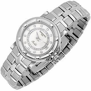 여성용 다이아몬드 펄 시계 - Raymond Weil