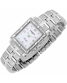 Parsifal - Ladies' Diamond Frame Mother of Pearl Date Watch - Raymond Weil