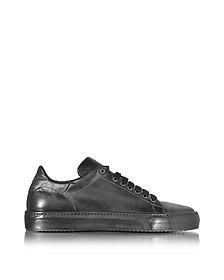 Anthracite Leather Men's Sneaker - Cesare Paciotti