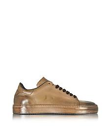 Dune Aged Leather Men's Sneaker - Cesare Paciotti