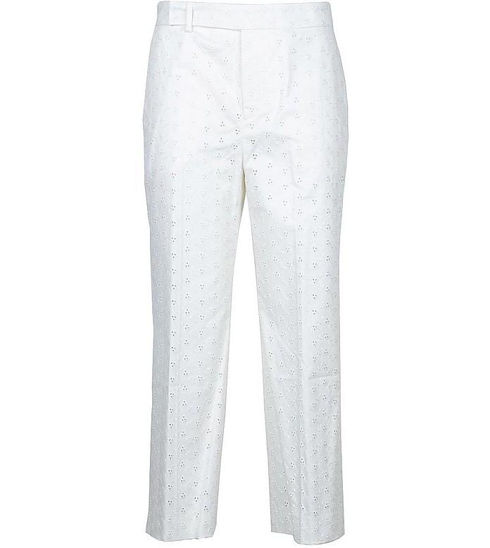 Women's White Pants - Pt Torino
