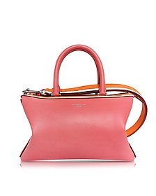 Pink Smooth Leather Satchel Bag - Emilio Pucci