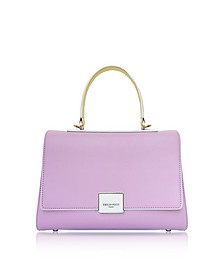 Top Handle Leather Satchel Bag - Emilio Pucci