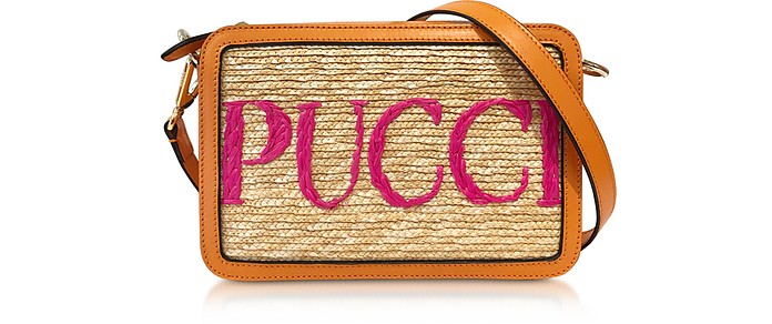 Mini Sac en Cuir Signature - Emilio Pucci