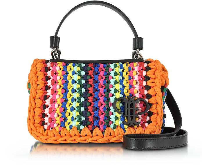 Multicolor Cotton Blend Shoulder Bag - Emilio Pucci