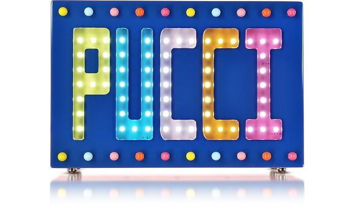 Signature Disco Clutch w/Beads and Lights - Emilio Pucci