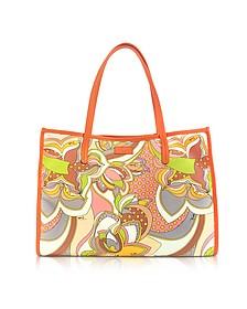 Sun Yellow Fabric Tote Bag - Emilio Pucci