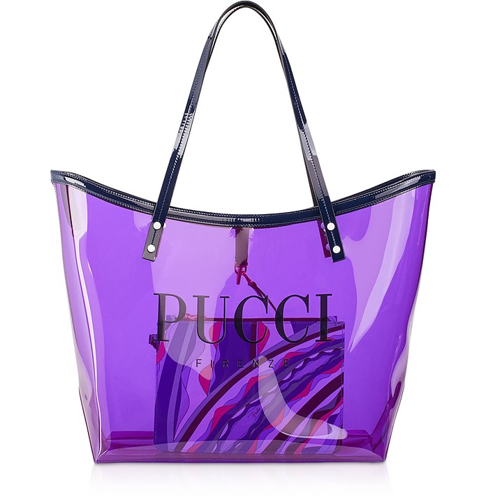 Tote Bag Signature Transparent - Emilio Pucci