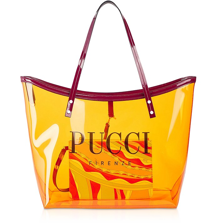 Signature Transparent Tote Bag - Emilio Pucci