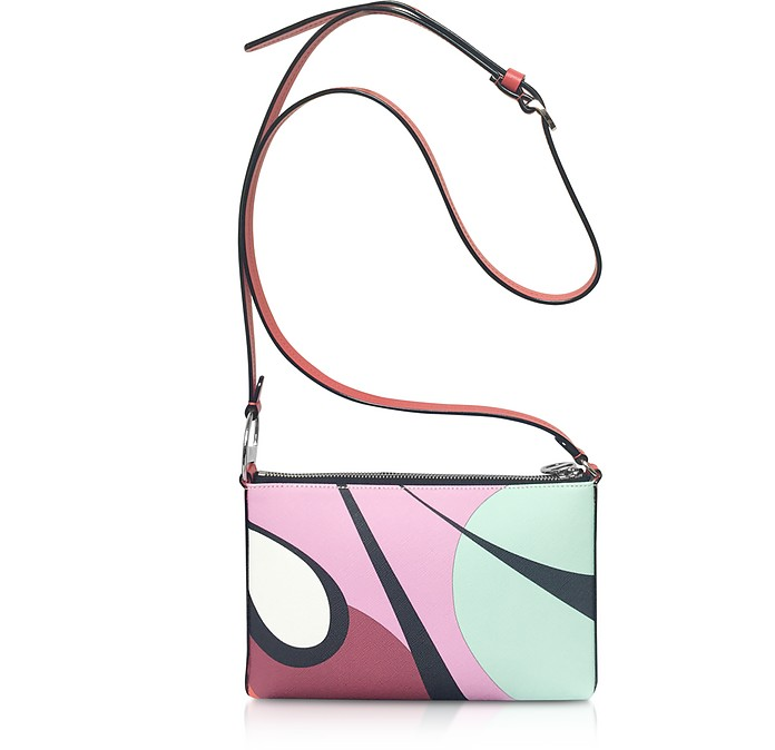 Abstract Print Mini Crossbody Bag - Emilio Pucci