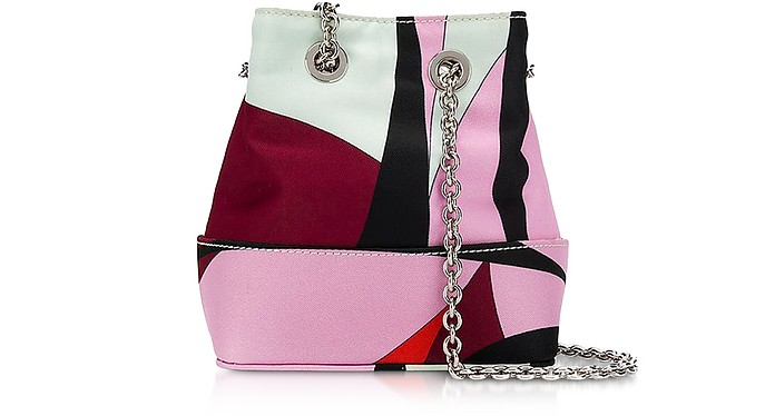 Alex Print Bonita Mini Bucket Bag - Emilio Pucci