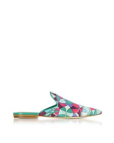 Optical Printed Leather Slippers - Emilio Pucci / エミリオ プッチ