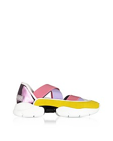 City Dance Suede Sneakers - Emilio Pucci