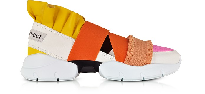Color Block Nappa City Up Sneakers  - Emilio Pucci / エミリオ プッチ