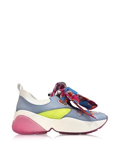 Multicolor Bow Light Blue Sneakers - Emilio Pucci
