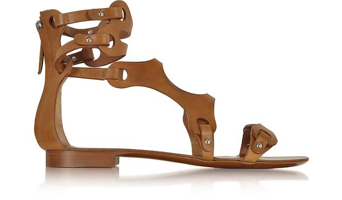 Terra Leather Sandal - Emilio Pucci
