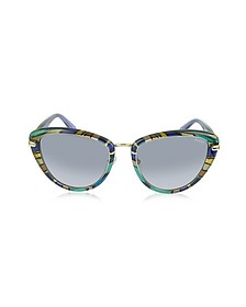 EP0011 Fantasy Acetate Frame Cat Eye Sunglasses - Emilio Pucci