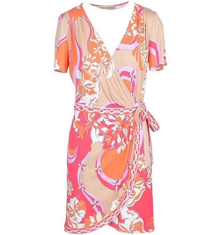 Women's Orange Dress - Emilio Pucci