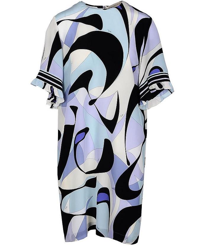 Women's Black / Light Blue Dress - Emilio Pucci