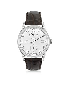 Heritage Sunray Mechanic Automatic Silver Dial Men's Watch