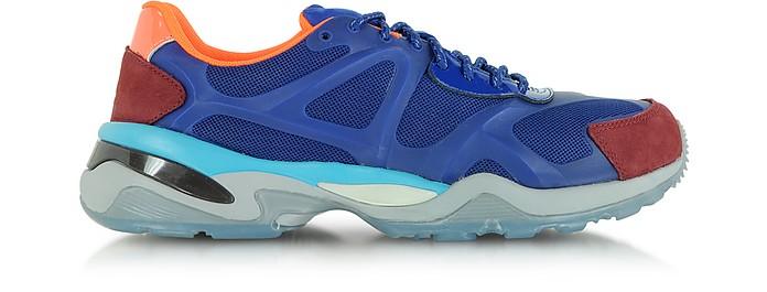Sodalite Blue and Syrah McQ Run Low Top Women's Sneaker - McQ Alexander McQueen x Puma
