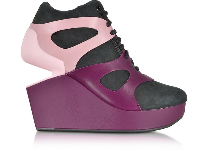 Leap Purple Potion Wedge Sneaker  - McQ Alexander McQueen x Puma