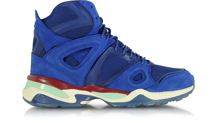 3947045a824e McQ Alexander McQueen x Puma Sodalite Blue McQ Run Mid Men s Sneaker ...