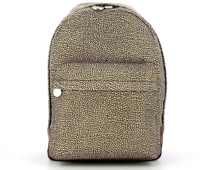 Women's Beige Backpack - Borbonese