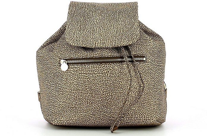 Women's Beige Backpack - Borbonese