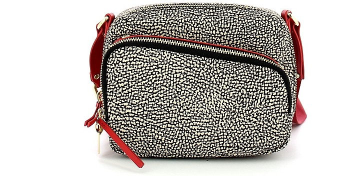 Red Small Front Pocket Camera Bag - Borbonese