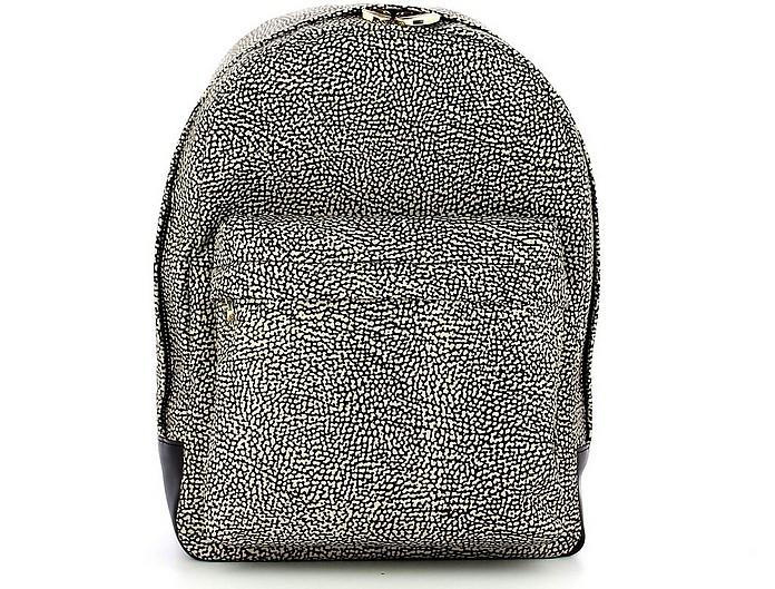 Black Medium Backpack - Borbonese