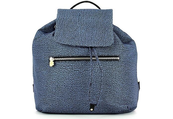 Women's Blue Backpack - Borbonese