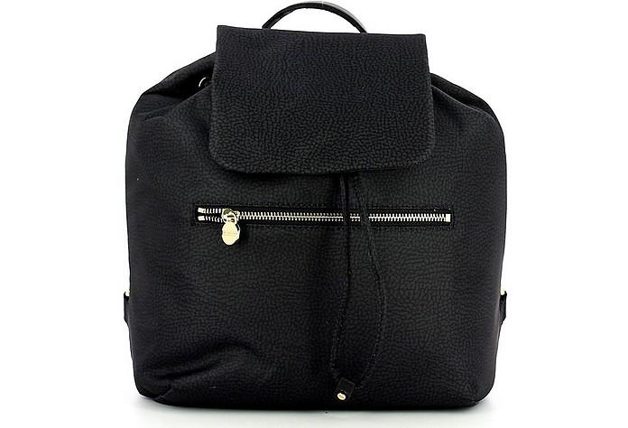 Women's Black Backpack - Borbonese