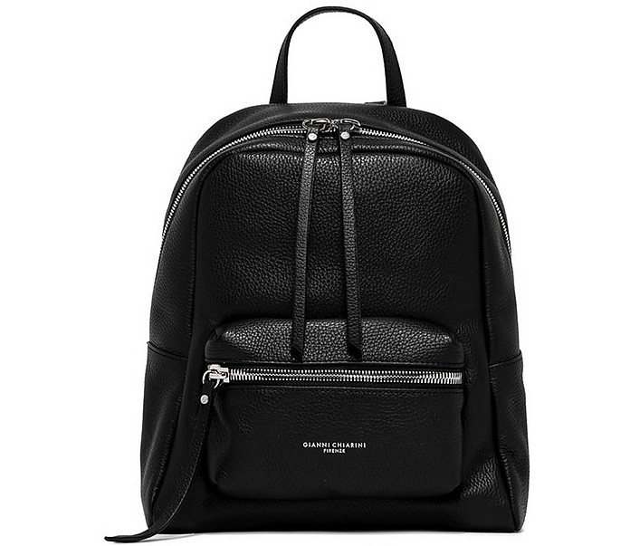 Women's Black Backpack - Gianni Chiarini