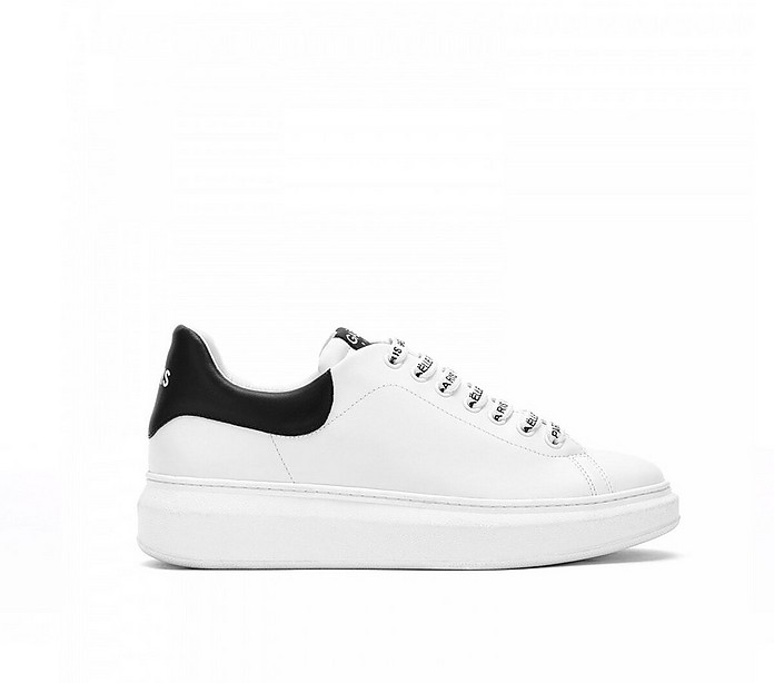 Women's White Shoes - GAELLE PARIS